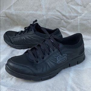 Skechers Slip Resistant Memory Foam Work Shoes